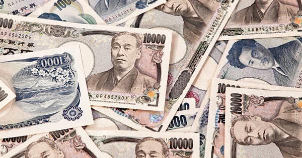 100000 yen Cash out