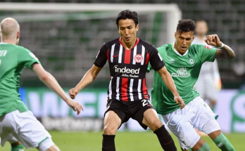 Makoto Hasebe tied the record for most Bundesliga games by an Asian player