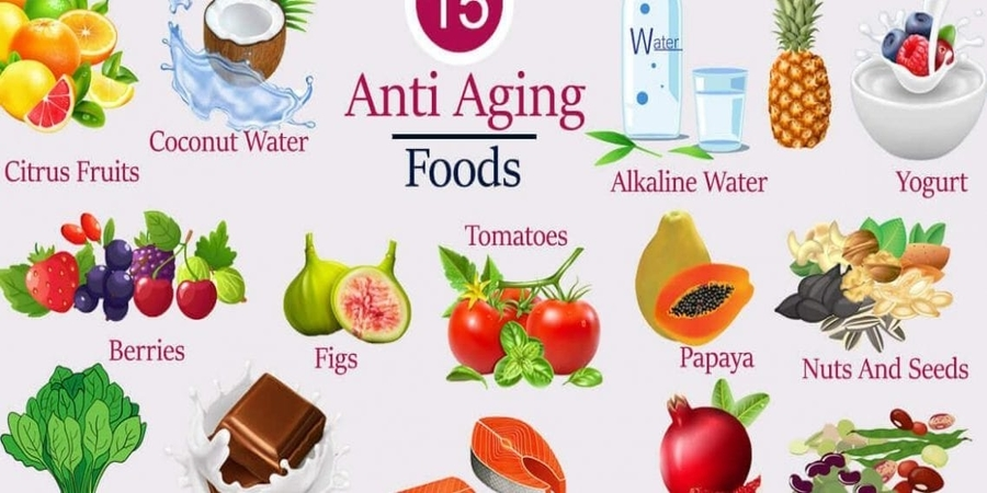 Anti-Aging Foods That'll Keep You Young Forever