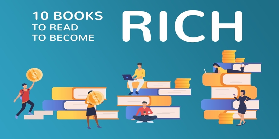 five must-read books to become successful and rich