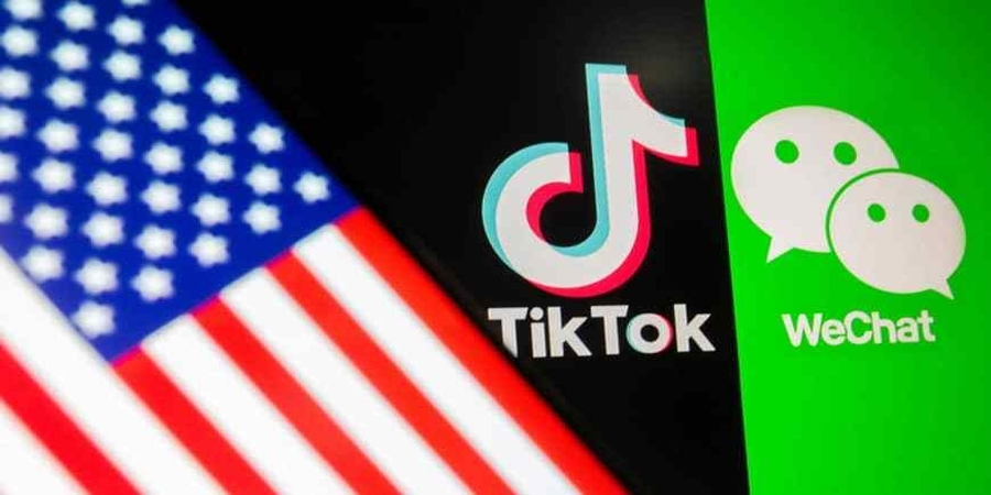 The U.S. Commerce Department said it is prohibiting Chinese-owned TikTok and WeChat from app stores as of Sunday, citing national security and data privacy concerns.