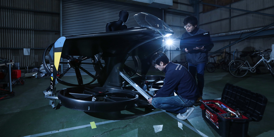 Asian flying cars aim to soar over walls of global regulation