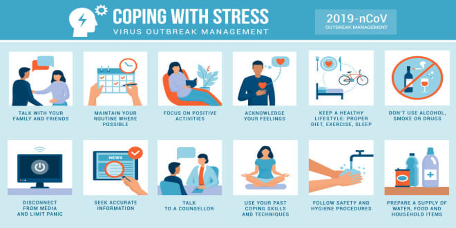 How to manage stress and anxiety in this Pandemic